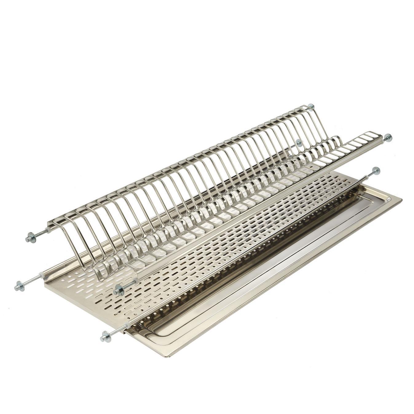 257-10 посудосушители 800 мм хром калибра